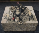Champion Pavement Artist - Jenny McCracken, Thornbury, VIC
