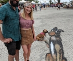 ctwcc-3d-chalk-art-dog-with-andi-chris-and-mel-with-their-dog-lucy