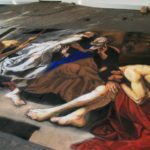 A reproduction of Antonio de Bellis' 17th Century masterpiece 'The Liberation of St. Peter'