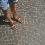 Cobblestones - the stones are good, the gaps not so good