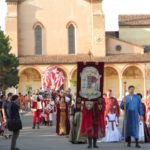 The festival opens with a medieval parade