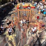 13 artists were selected to work with Kurt Wenner