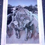Kurt Wenner's composition for Sarasota Chalk Festival 2012