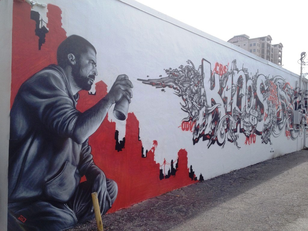 Mural by MTO, France