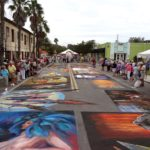 Quiet time at Sarasota Chalk Festival 2012
