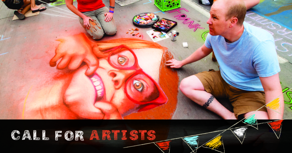Chalk the Walk Central Coast call for artist