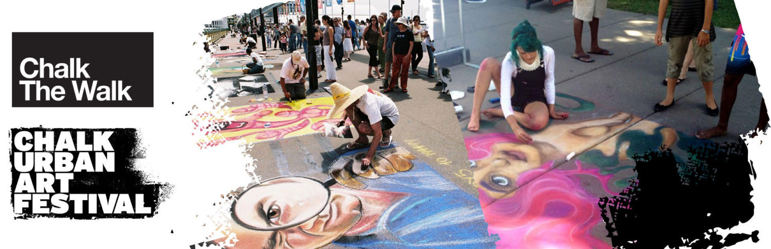 Chalk Urban Art Festival – Chalk the Walk
